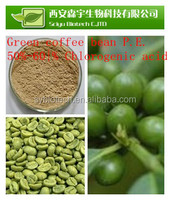 green coffee bean extract capsules private label ,Weight Loss pure Green Coffee Bean Extract 50%-60%