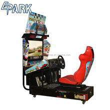 India arcade amusement park coin operated car racing game machine
