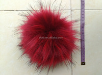 Multicolor and fluffy animal pom pon