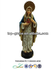 Plolyresin virgin mary estatuas