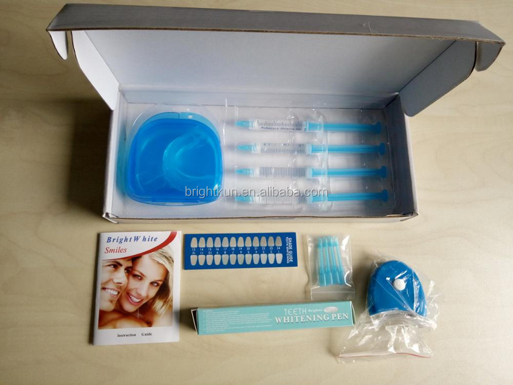 FDA approved private label beautiful smile teeth whitening kit for home