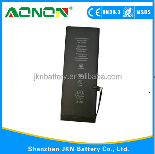 High quality batteries for iphone 5S and batteries for Iphone 6g replacement