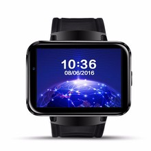 2.2 inch big screen 3G WIFI DM98 Android smart watch phone 900mAh