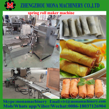 Stainless steel spring roll making machine/automatic square or round spring roll sheet machine with cheap price