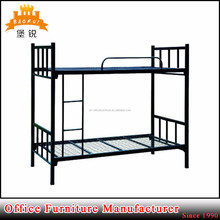 cheap heavy duty double decker steel beds frame metal bunk bed for sale
