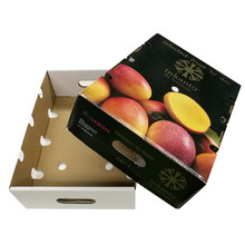 Recycled materials printed diwali gift dry cherry fruit packaging box