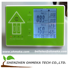 China factory supply wholesale Handheld indoor air quality monitor/Smart portable PM 2.5 detector indoor air quality monitor