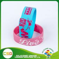 High quality custom logo promotional gifts children silicone wrist bracelet