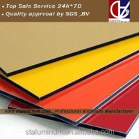 Aluminum composite panel exported to Nepal, Nigeria, Chile, Boliva ect 30 countries