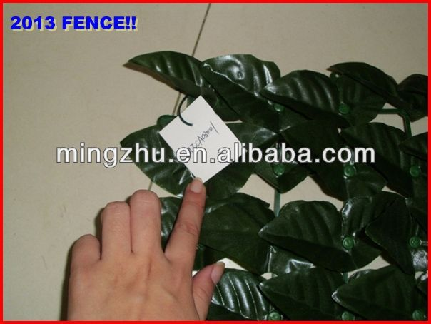 2013 factory Garden Fencing top 1 Garden decoration fence wooden lattice and fence