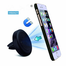 Multiple Mobile Phone Holder Air Vent Mount Magnet Magnetic Metal Phone Mobile Holder Universal For iPhone 6 6s 7 8 Car Holder