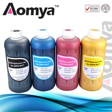 Chinese supplier high quality eco-solvent dye ink for Epson,Roland,Mimaki,DX5/DX7 print head