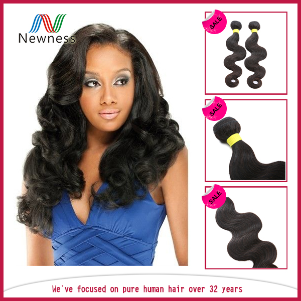 Shine And Luster unprocessed virgin brazilian hair wholesale hair extension razor cut hair pieces