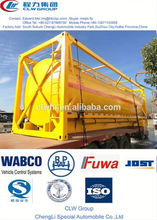 hot sale fuel container tank, aluminum round fuel tank