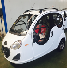 2016 most popular Chinese cheap electric tricycle for adult/3 wheel closed body electric vehicle made in China