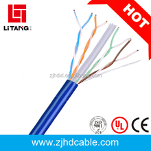 aluminum foil and braid cat6 cable copper conductor network cable