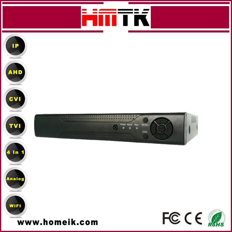 XM 2/3/4/5MP 4CH DVR AHD RoHs CE FCC CCTV Camera Systems