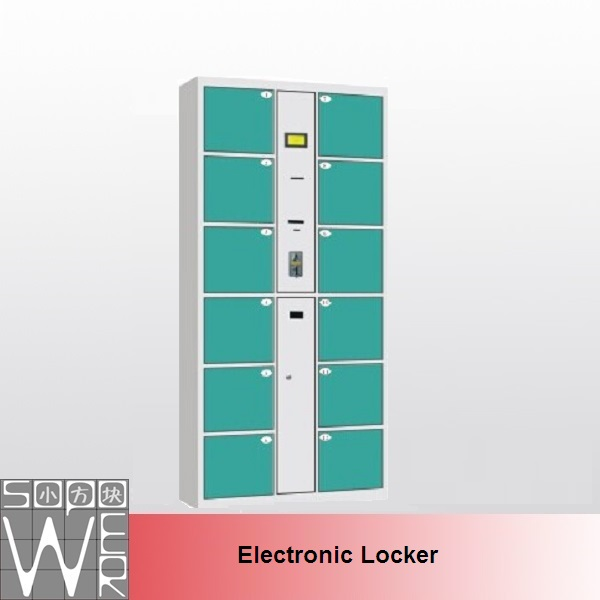 industrial lockable vertical golf electronic metal storage locker cabinet