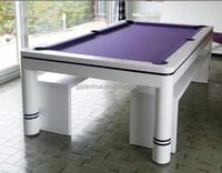 KingWah solid wood dining pool table