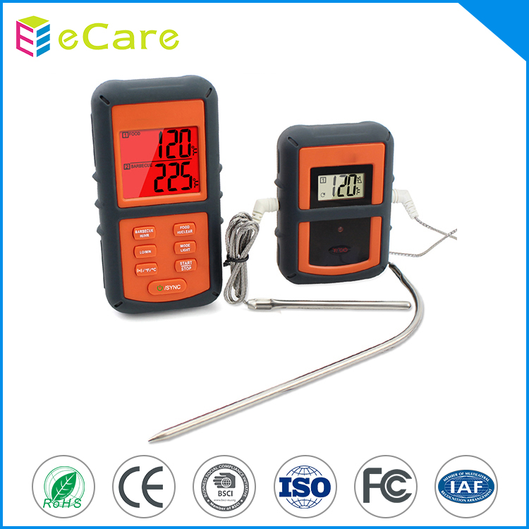 Best digital bbq beef food thermometer with long probe