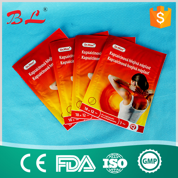 Chinese natual herbal pain relief patch/capsicum plaster