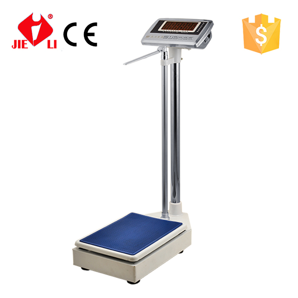 Hospital Weighing Scale Machine Measuring Height and Weight 300kg