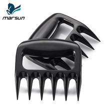 Amazon Choice best Original manufacturer custom new brand 2pcs BBQ grill tools bear paws pulled pork shredder meat claws