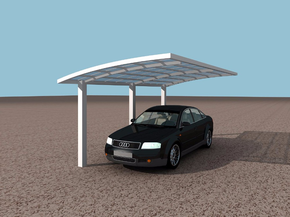 easy to assemble outdoor car parking canopy