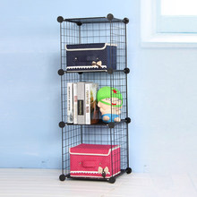 Free Standing Easy to Clean Wire Frame Metal Box Storage with Optional Cubes