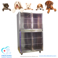 HK-C8103 high quality cheap stainless animal cage