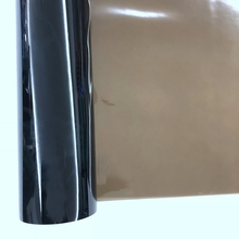 brown color PVC flexible transparent film glossy PVC film roll