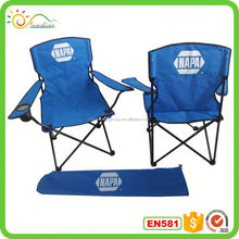 Wood folding camp relaxing chair with carry bag