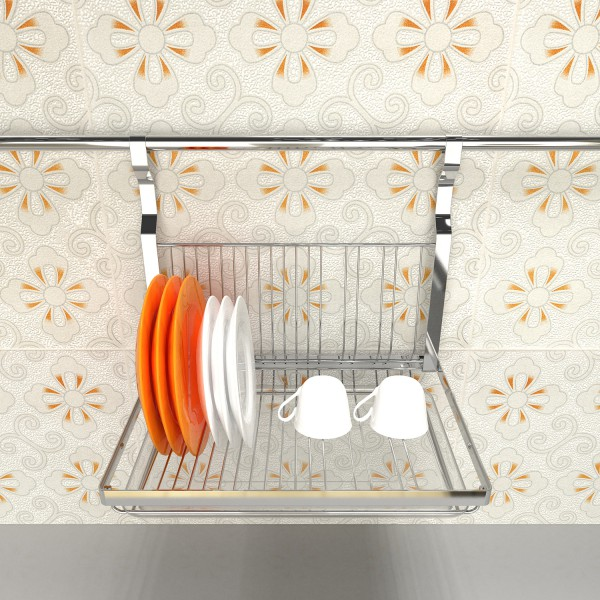 Baiying 2016 October Factory Direct Sale dish rack in drawer Plate Rack Holder