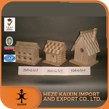 Popular Low Price Wooden Bird Feeder And House Model