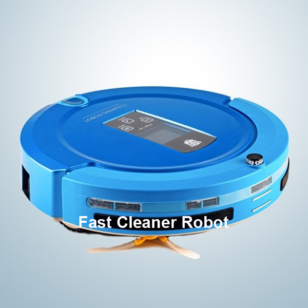 2014 Hot slaes OEM shining logo good robot vacuum cleaner / cyclone dust collector