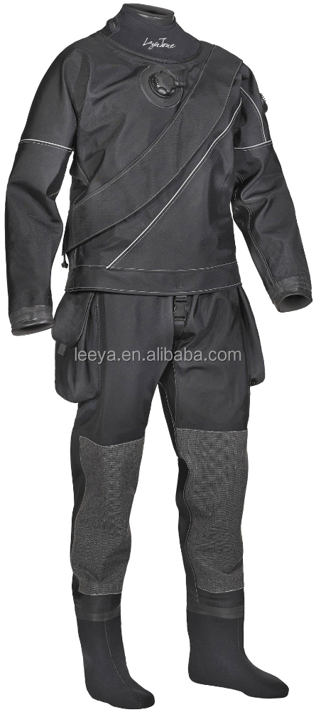 nylon fabric scuba diving with a dry suit
