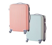 ABS /Polycarbonate Trolley luggage in cheap from china supplier