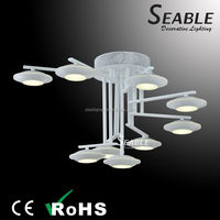 Golden color and white color SMD led light source light fixture of ceiling