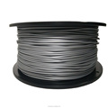 Dimensional Accuracy +/-0.02mm 2.2 LBS 1KG Spool Silver 1.75 mm PLA 3D Filament for Most 3D Printer 3D Printing Pen