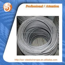 galvanized steel wire ropes 10mm