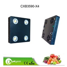 Dimmable 400W led panel light 110LM/W CXB3590 panel led grow light