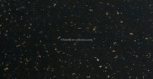 Black Mirror Artificial Quartz stone Tile for Airport/Hotel project
