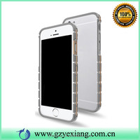 Luxury Watch Band Design TPU Plating Bumper Case For iPhone 6