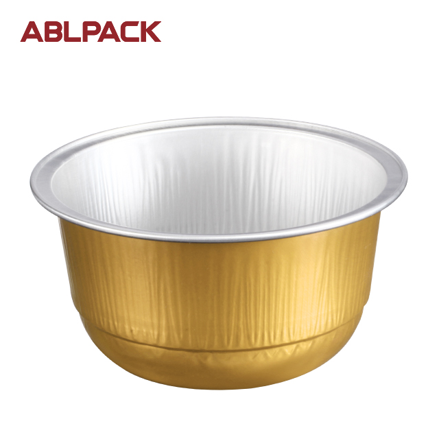 Baking Tools aluminium foil bowl for raspe cake