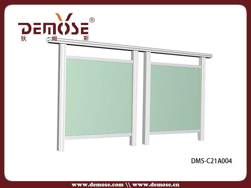 Vidrio de aluminio para barandillas balc n exterior - Barandilla de aluminio ...