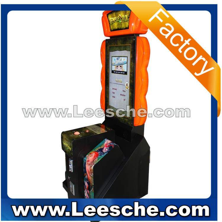 guangzhou manufacturer Temple run 2 indoor simulator lottery game machine skill arcade game machine for shopping mall