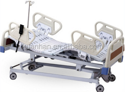 Three Function Electric ICU Bed Medical Bed Hospital Furniture