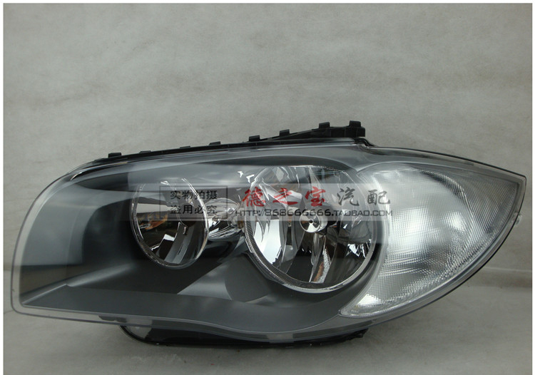 Made in Taiwan auto HID Xenon head lamp for BMW series 1 E87 120i 130i 135i head light