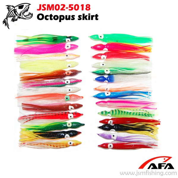 Wholesale Price Octopus Soft Fishing Lure Squid Baits OEM Provided