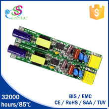 top brand ic led driver power 9w 18w 22w t5 t8 tube driver 2.5kv surge for tube lighting